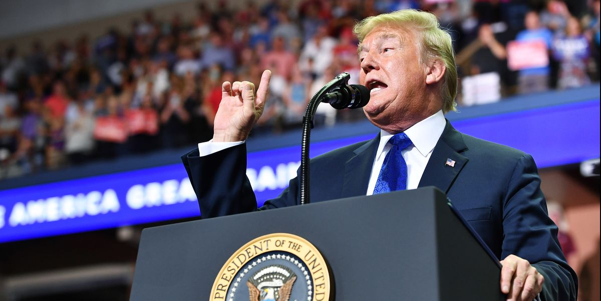 In Jaw-Dropping Video, President Trump Mocks Christine Blasey Ford at Campaign Rally