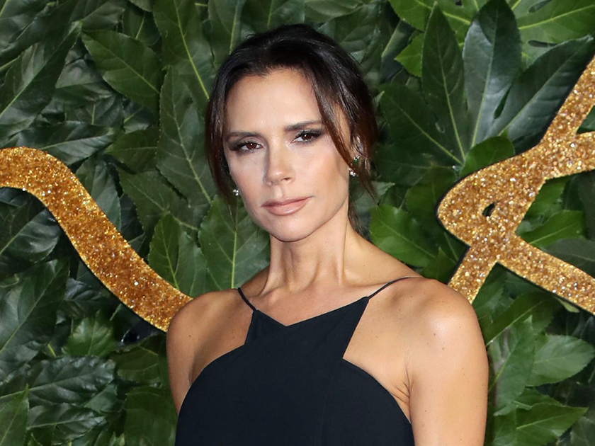 Victoria Beckham lets slip 'spicy' secret about husband David as she gushes over 'soulmate'
