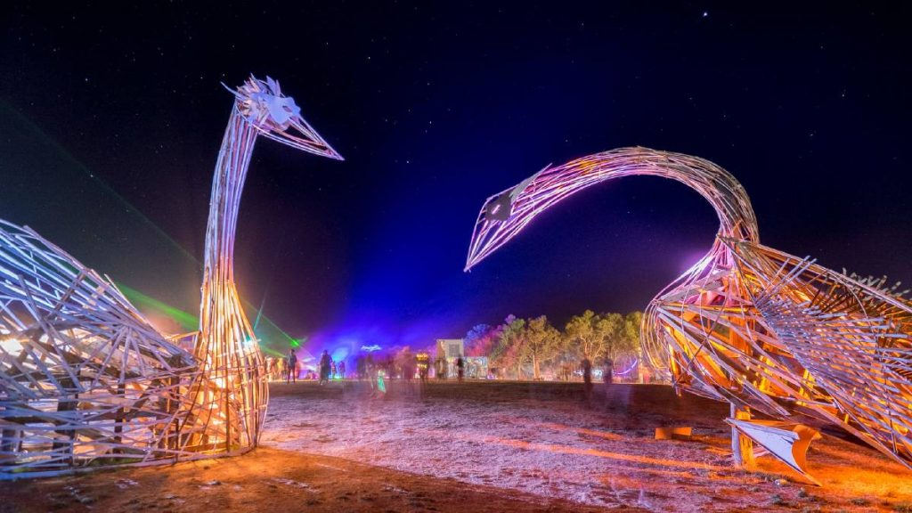 Person dies at Rainbow Serpent Music and Arts Festival
