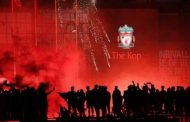 Liverpool lift Premier League trophy: Goals galore, explosions and a red sky