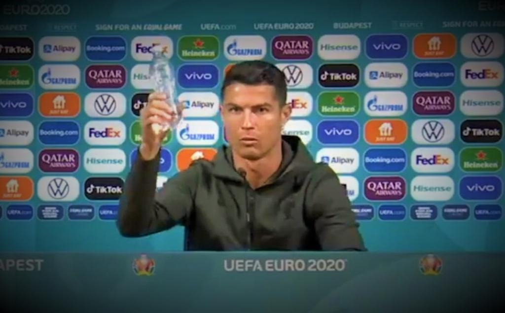 Ronaldo for 'agua': Celebrities dissing junk food can go a long way